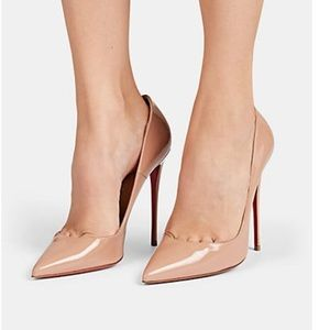 So Kate Nude Patent Leather Pumps 😍